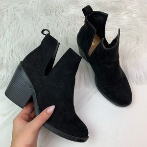 Mossimo Black Ankle Booties